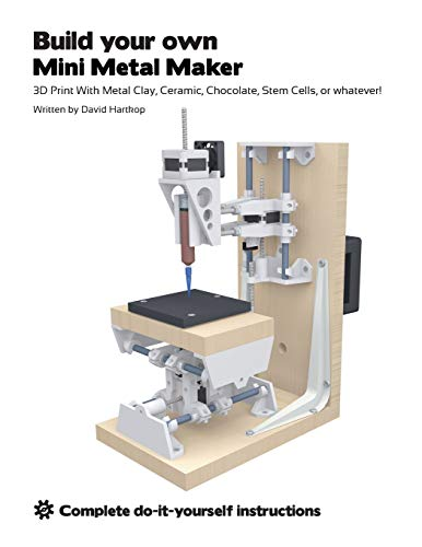 Build your own Mini Metal Maker: 3D print with metal clay, ceramic, chocolate, stem cells, or whatever!