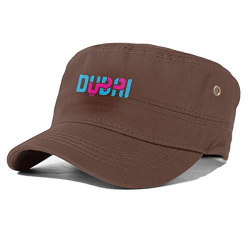 Dubai Tourist Logo Herren Damen Animal Farm Snap Back Trucker Cap Baseball Cap Gr. Einheitsgröße, coffee