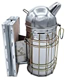 Affumicatore in acciaio inox europeo per apicoltore, strumento per spaventare api con fumo di apicoltura