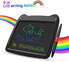 LCD Writing Tablet 9 Inch, Electronic Colorful Screen Drawing Board Kids Tablets Doodle Board Writing Pad for Kids at Home, School and Office Black
