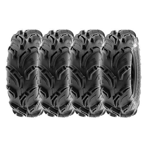 "SunF 27x11-14 27x11x14 Tubeless 6 PR 27"" ATV UTV Tires A048 [Set of 4]"