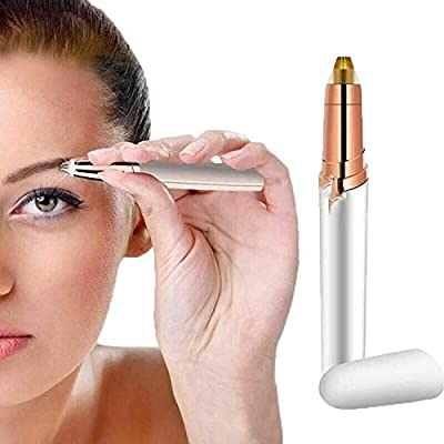 True Face Ladies Eyebrow Trimmer Hair Remover Epilator Shaver Shaper Battery Operated Pen from True Face