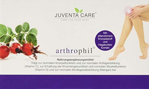 Juventa Care arthrophil - Nahrungsergänzungsmittel-trägt zur normalen Knorpelfunktion und zur Kollagenbildung(Vit C), zur Erhaltung der Knochengesundheit (Vit D), 60 Kapseln