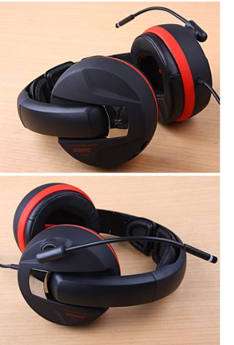 Great Price! Somic G989 7.1 Surround Sound Gaming Headset USB with Removable Microphone