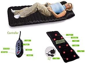 ARTH-ENTERPRISES Rechargeable Massage Bed With Heat Massaging Mattress Sleep Beauty Spa Heating Vibrating Head Neck Leg Massager Bed Cushion Massage With Remote Control Full Body Massage