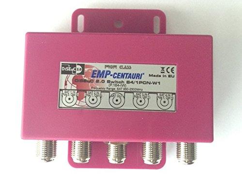 1 PCN-W1 DiSEqC Commutateur S4 P.164-IW