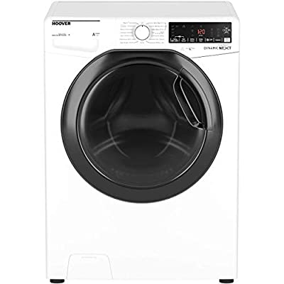 Hoover DWOAD610AHF7 Freestanding Dynamic Next Washing Machine, WiFi Connected, 10kg Load, 1600rpm, White
