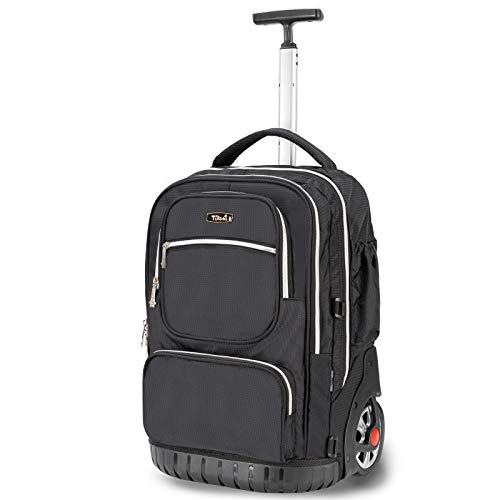 TABITORA(タビトラ) スーツケース リュックキャリー ビジネスバッグ 旅行バッグ リュックサック ビジネス 静音 通勤 通学 出張 男女兼用 大容量 ブラック