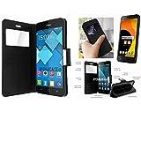 iPOMCASE Coque Pochette pour Orange Rise 52/Alcatel U5 4G