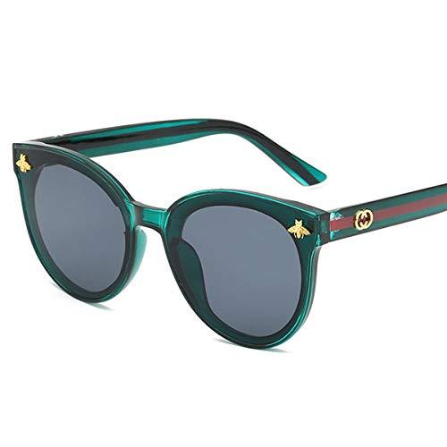 Gafas De Sol Marca Sexy Gafas De Sol Cuadradas Mujeres Moda Gafas De Sol Mujer Negro Marrón Tonos para Hombres Damas Femme Darkgreen