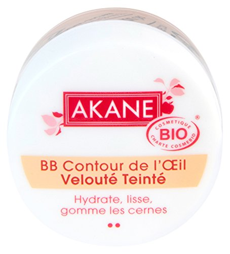 AKANE - BB et CC crèmes - BB crème contour de l'œil - BB crème certifiée bio - 12G