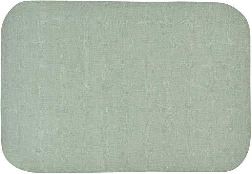 Sander abwischbare, fleckversiegelte Tischdecke Bistro Allegro, 135x170 cm, Farbe 78- Fog Green