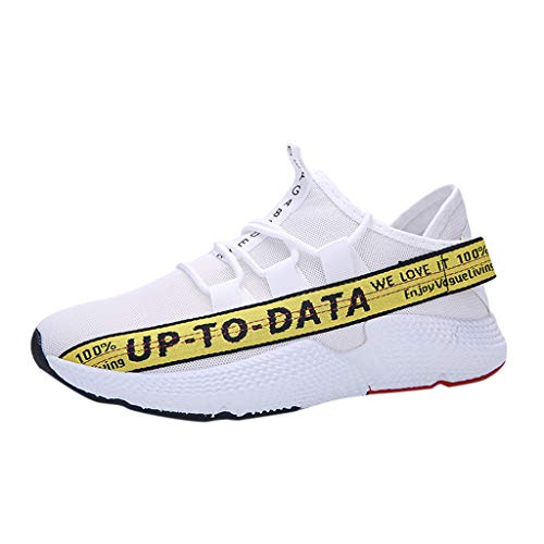 Riou-Stiefel Laufschuhe Herren Sneaker Herren Turnschuhe Mesh Leicht Atmungsaktiv Sportschuhe für Outdoor Running Joggen Fitness Training Freizeit Schuhe Trend 2019 Günstig