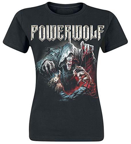 Powerwolf The Sacrament of Sin Frauen T-Shirt schwarz L 100% Baumwolle Band-Merch, Bands