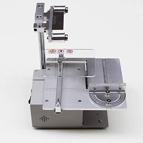 Mini macchina taglio per sega tavolo, Levigatrice a nastro elettrica Affilacoltelli, Levigatrice a nastro fai-da-te Levigatrice a nastro, Affilatrice per levigatura a 7 velocità regolabile