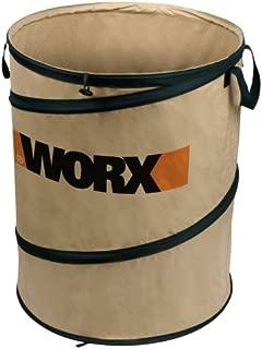 WORX WA0030 Landscaping 26-Gallon Collapsible Yard Waste Bag/Leaf Bin, Tan