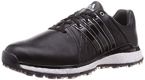 adidas Golf Damen Tour360 XT-SL Golfschuh, Schwarz - schwarz/silberfarben - Größe: 39 1/3 EU
