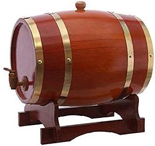 yunyu Baril de chêne Baril 10L Baril de chêne Vin et spiritueux vieillis Baril de vin Casier à vin Whisky Brandy Barrel Ba...