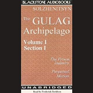 The Gulag Archipelago audiobook cover art
