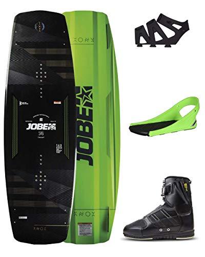 Jobe Herren Knox Premium 143 und Drift Bindungen Set Wakeboard, Mehrfarbig, 10