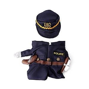 Slylive policier pour animal domestique Vêtements Costume de marin pour chats Chiens