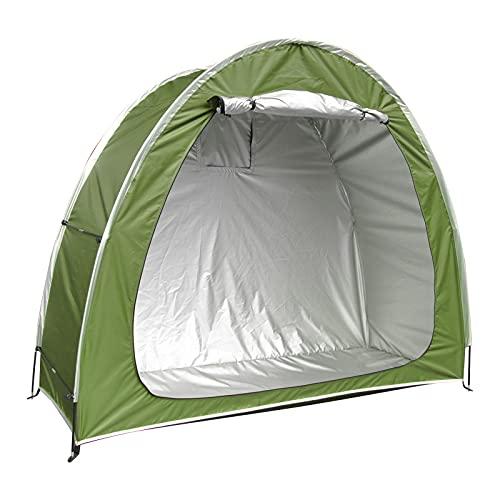 Opaltool Tente de vélo épaisse, portable et imperméable - Abri de rangement pliable pour vélo - Pour le camping en plein air - 200 x 80 x 165 cm