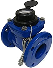 PRM 3 Inch Flanged Multi-Jet Water Meter with Pulse Output, Not for Potable Water