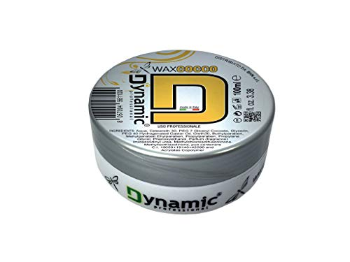 Dynamic Cocos-Duft Haarwachs mit starker Halt ohne Silikone, Parabene und SLS - 100 ml - Made in Italien