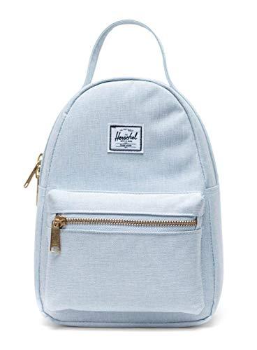 Herschel Nova Backpack, Ballad Blue Pastel Crosshatch, Mini 9L,10501-03515-OS