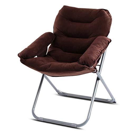 FEE-ZC Chaise Pliante inclinable Siesta Nap Balcon dortoir canapé-lit Chaise Loisirs Ordinateur Chaise (Couleur: F)