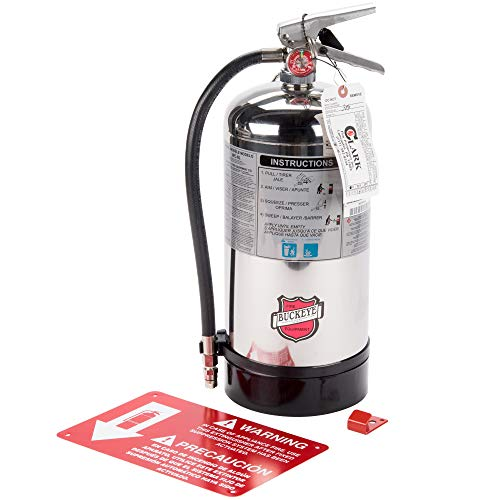 commercial Buckeye K Class, WC-6liter 1-A: Class K Kitchen Fire Extinguisher, Marking. class k fire extinguishers