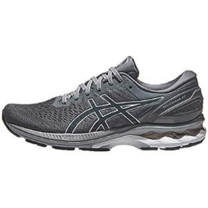 ASICS Men's Gel-Kayano 27 Running Shoes, 10, Carrier Grey/French Blue