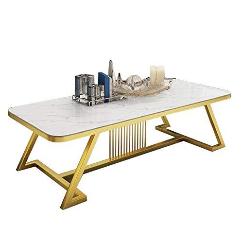 Z-GJM marmer salontafel eenvoudige moderne huis kleine appartement woonkamer eenvoudige rechthoekige creatieve kleine salontafel de geselecteerde marmer heeft een duidelijke textuur en gladde randen om te voorkomen dat Col A