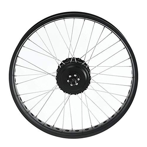 SALUTUYA Kit de conversión de Bicicleta eléctrica con Rueda de 20 Pulgadas Panel de Instrumentos LCD(Backdrive)