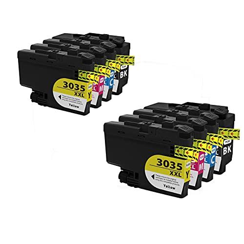 RICR Reemplazo De Cartucho De Tinta Compatible LC3035XXL para Brother MFC-J995DW MFC-J995DW (Paquete BK/C/M/Y 4) 2 Sets