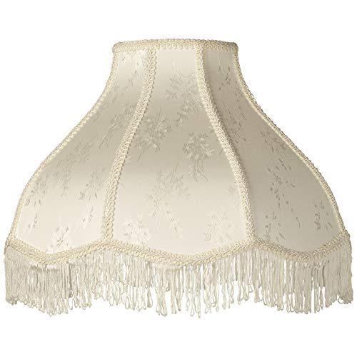 Cream Large Scallop Dome Lamp Shade 6