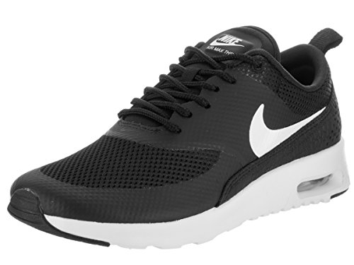 Nike Womens Air MAX Thea Black White Synthetic Trainers 37.5 EU