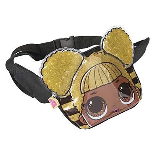 L.O.L. Surprise ! 3D Puppen Hüfttasche für Mädchen und Jugendliche | Confetti-Pop-Kollektion mit Queen Bee, Merbaby, Kitty Queen und Unicorn | Handliche Gürteltaschen oder Schultasche (Queen Bee)