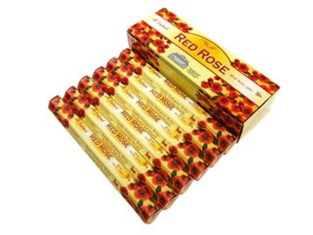 ストローク安らぎ何でもTULASI(トゥラシ) レッドローズ香 スティック RED ROSE 6箱セット