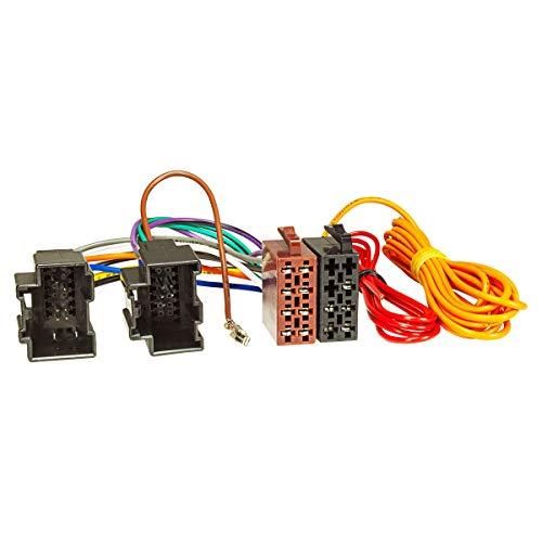 tomzz Audio 7005–000 Câble adaptateur d'autoradio pour Saab 9.3, 9,5, Cadillac BLS, DTS sur fiche 16 broches ISO Norme