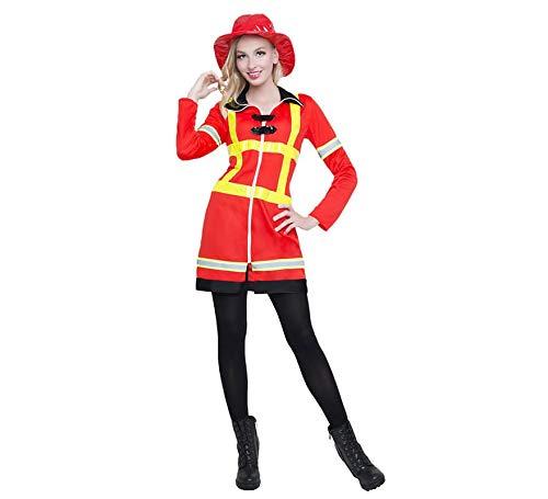 Car&Gus Disfraz de Bombera para Mujer