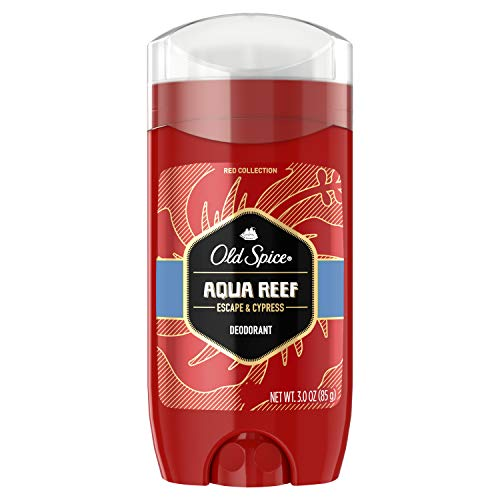 Old Spice Red Collection Aqua Reef Scent Deodorant for Men, 3.0 oz
