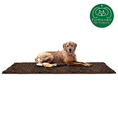 FurHaven Muddy Paws Towel & Shammy Dog Mat