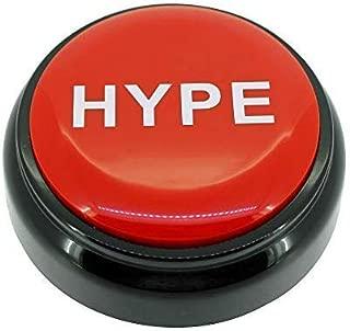 HYPE Button™ 2.0   Hip Hop Air Horn Sound Effect Button (BATTERIES INCLUDED)