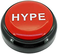 HYPE Button™ 2.0 | Hip Hop Air Horn Sound Effect Button (BATTERIES INCLUDED)