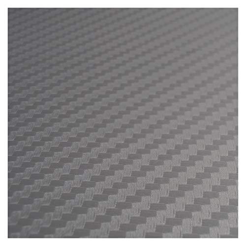 Carbon Folie Carbon-Faser-Vinylauto-Verpackungs-Auto-Aufkleber auf dem auto Motorrad-Auto-Styling-Zubehör Wasserdicht Folie Auto (Color Name : Grey)