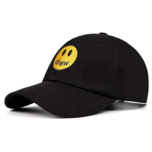 Baseball Kappe Snapback Cap HutZeichnete Haus Justin Bieber Papa Hut 100% Baumwolle Smiley Gesicht Baseball Cap Hut Unisex Street Trend Caps