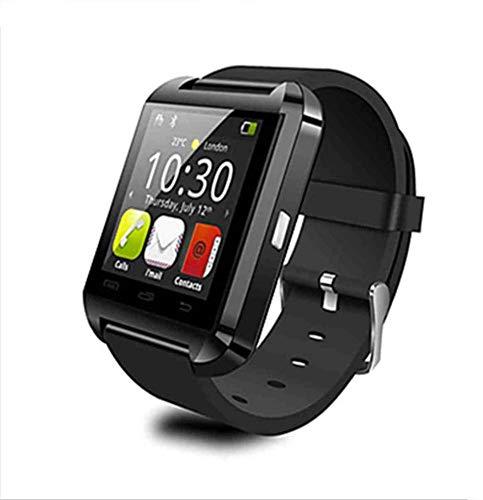 NO BRAND Smartwatch Bluetooth para iOS Android Teléfono Inteligente Monitor de sueño Rastreador de Ejercicios Reloj Dispositivo portátil Sport Smart Watch U8, Rojo Negro