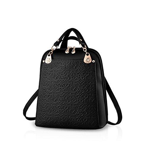 Nicole&Doris Borsa di viaggio nuovo retro di tendenza Boutique rilievo spalla borsa