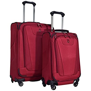 Travelpro Maxlite 4 2-Piece Spinner Set: 21 and 25 Spinners (Merlot)